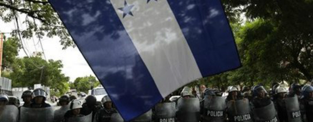 The Sobering Reality of Police State Activities in Honduras