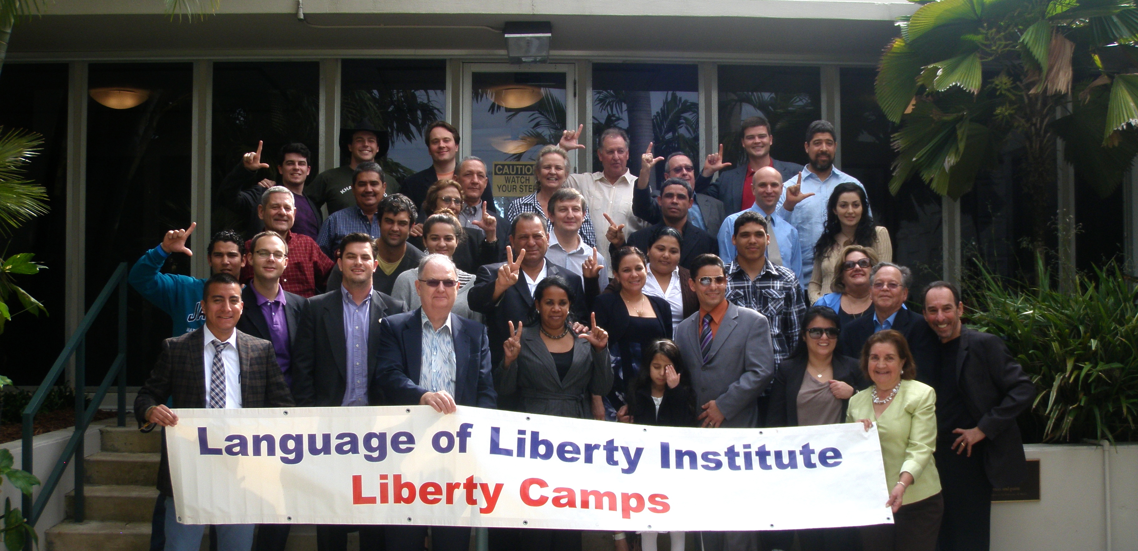 Liberty Camp Group Photo