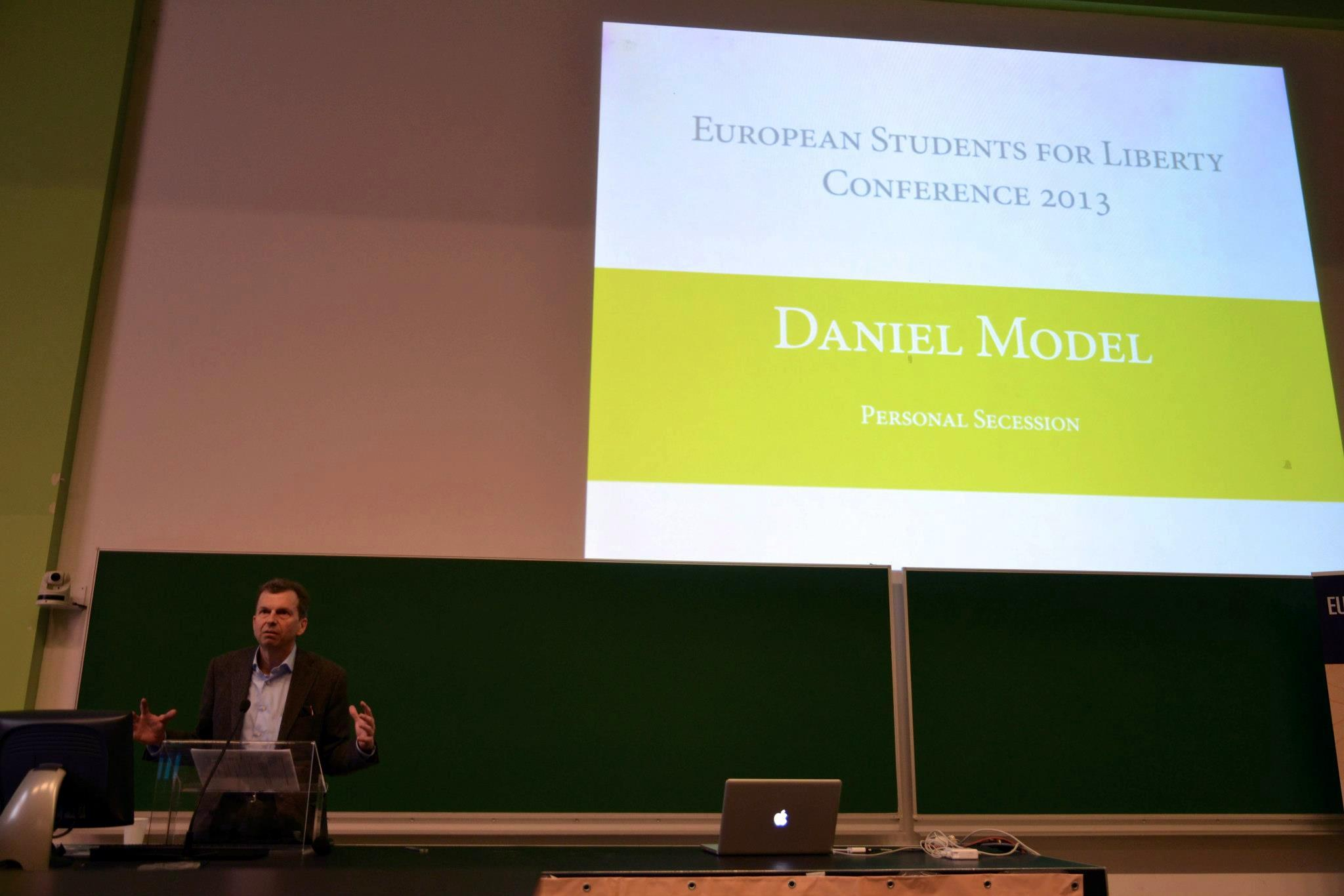 Swiss industrialist Daniel Model shares his own journey of personal secession.
