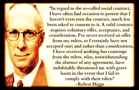 Higgs On the Social Contract