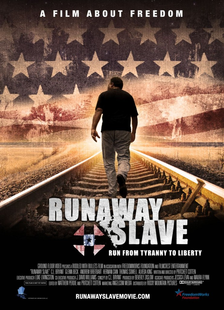 Although overdone with editing and a heavy focus on one man, <em>Runaway Slave</em> stands as a reference for a way out of racial division and state dependence in the United States. (Amazon)