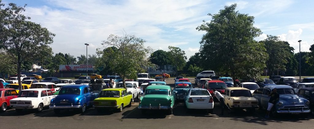 Tourists often comment how cute it is that most cars in Cuba are literally from the 1950s and 1960s, but few trade places to be an exhibit in the communist museum.