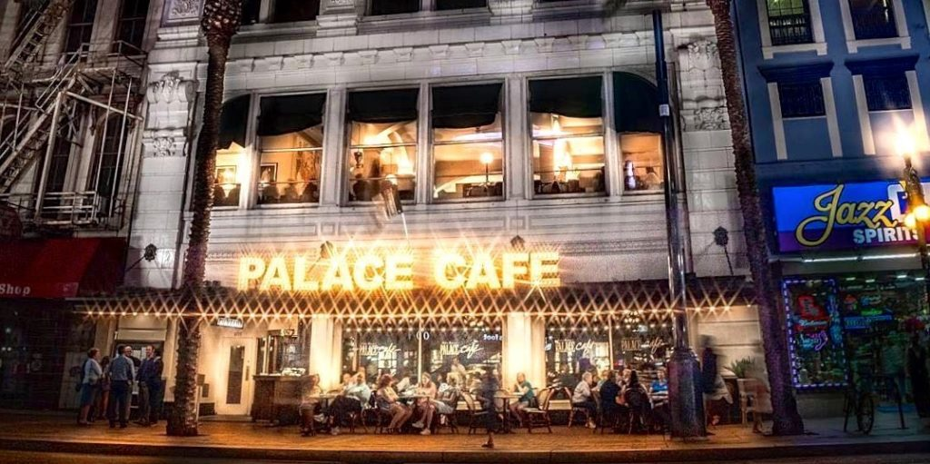 The Palace Cafe on Canal Street offers about traditional Creole cuisine as you are going to get.